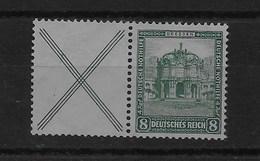 Combinación De Reich Nº Michel W-39 * (SIN GOMA) (OHNE GUMMI) - Se-Tenant