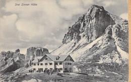 ITALIA Italie ( Trentino Alto Adige ) DREI ZINNEN HÜTTE ( Hotel Restaurant ?) - CPA - Italy Italien Italië - Autres Villes