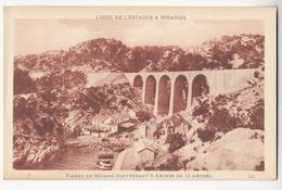 Au Plus Rapide Ligne Chemin De Fer Estaque Miramas Viaduc De Méjean - Chemins De Fer