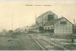 Loire Atlantique Trignac Cimenterie Carbonisation - France