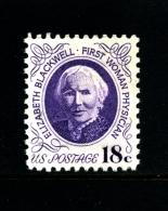 UNITED STATES/USA - 1974  18c.  ELISABETH BLACWELL  MINT NH - Stati Uniti
