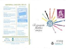 España Sobre Entero Postal Nº 17 Con Publicidad - Enteros Postales