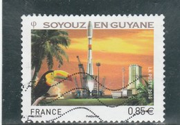 FRANCE 2010 SOYOUZ EN GUYANE  YT 4458 - OBLTERE - France