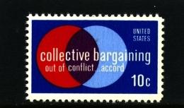 UNITED STATES/USA - 1975  COLLECTIVE BARGAINING  MINT NH - Stati Uniti
