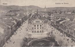KASSA (Ungarn) - Szinhaz Es Föutca, Gel. 1925? - Ungarn