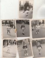 Lot 7 Photos Format 9 X 7 Cm - 1947 - Jeunes Enfants - 2 Scan - Photos