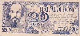 BILLET VIETNAM 20 DONG De 1948 @ PICK 24 Ou 25 - Vietnam