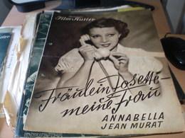 Illustrierter Film Kurier Fraulein Josette Meine Frau Annabella Jean Murat - Magazines