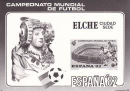 España HR Futbol Prueba En Negro - Copa Mundial