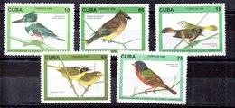 Serie De Cuba N ºYvert 3525/29 ** PAJAROS (BIRDS) - Ungebraucht