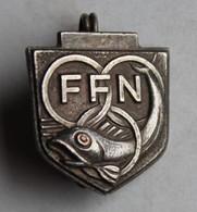 Ancienne Broche Récompense FFN Fédération Française De Natation Sport - Swimming