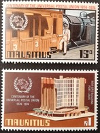 MAURITIUS 1974 Centenary Of U.P.U - Mauritius (1968-...)