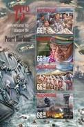 MOZAMBIQUE 2016 SHEET PEARL HARBOR SECOND WORLD WAR SECONDE GUERRE MONDIALE SEGUNDA GUERRA MUNDIAL Moz16222a - Mozambique