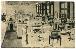 CPA - Carte Postale - Belgique - Mons - Ecole Des Mines Et De Métallurgie - Laboratoire De Chimie Organique (M8227) - Mons