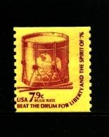 UNITED STATES/USA - 1976  7.9 C.  DRUM  COIL PERF. 10 VERT  MINT NH - Stati Uniti