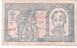BILLET VIETNAM 10 DONG De 1948 @ PICK 20 - Soldat Et Travailleur - Vietnam