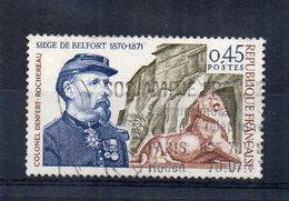 Francia - 1970 - Centenario Dell'Assedio Di Belfort - Usato - (FDC15166) - Francia