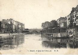 METZ Quai De L'arsenal Lavoir Flotant  Baignade - Metz