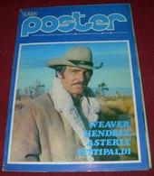 Dennis Weaver POSTER Yugoslavian From 70s RARE - Books, Magazines, Comics