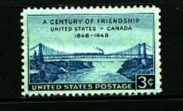 UNITED STATES/USA - 1948  FRIENDSHIP  USA-CANADA  MINT NH - Stati Uniti