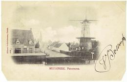 MEULEBEKE - Panorama - Molen - Moulin - Meulebeke