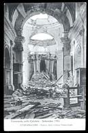TERREMOTO DELLE CALABRIE DEL 1905 - STEFANACONI - INTERNO DELLA CHIESA PARROCCHIALE - Catastrophes