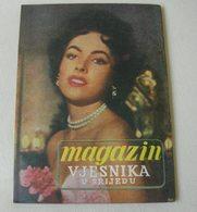 Dolores Del Rio VJESNIK U SRIJEDU Yugoslavian August 1954 EXTREMELY RARE - Books, Magazines, Comics