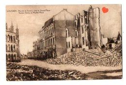 02177-LE-BELGIQUE-LOUVAIN-Rue De La Station,vers La Grand'Place-------pub Au Dos : Sté Ame Chocolaterie Pâtissiers Bruxe - Leuven