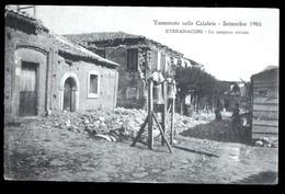 TERREMOTO DELLE CALABRIE DEL 1905 - STEFANACONI - LE CAMPANE SALVATE - Catastrofi