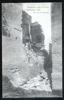 TERREMOTO DELLE CALABRIE DEL 1905 - PARGHELIA - UNA VIA - Catastrophes