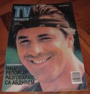 Don Johnson TV NOVOSTI Yugoslavian May 1988 VERY RARE ITEM - Books, Magazines, Comics
