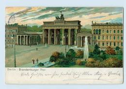 E867/ Berlin Brandenburger Tor Litho AK 1904 - Spandau