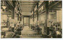 CPA - Carte Postale - Belgique - Mons - Ecole Des Mines Et De Métallurgie - Laboratoire D'électrotechnie (M8230) - Mons