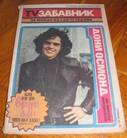 Donny Osmond TV ZABAVNIK Yugoslavian December 1977 EXTREMELY RARE - Books, Magazines, Comics