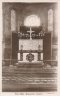 R049830 The Altar. Brixworth Church. A. Nelson - Cartes Postales