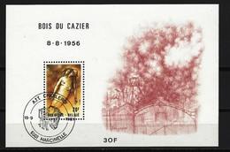 """BELGIEN - Block Mi-Nr. 51 - 25. Jahrestag Der Bergwerkskatastrophe Im """"Bois Du Cazier"""", Marcinelle Gestempelt - Blocks & Kleinbögen 1962-...."""