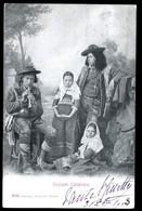 CALABRIA - COSTUMI CALABRESI - VIAGGIATA IN FRANCIA NEL 1904 - Costumi