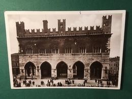 Cartolina Piacenza - Piazza Cavalli - Palazzo Gotico - 1936 - Piacenza