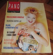 Drew Barrymore - PANO Serbian July 1995 EXTREMELY RARE - Books, Magazines, Comics
