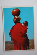 Lesotho / Tribal Life- Mother With Child - Lesotho