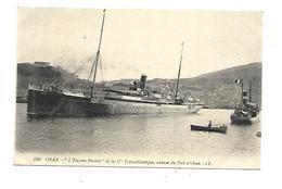 Oran L Eugène Periere Sortant Du Port D Oran - Oran