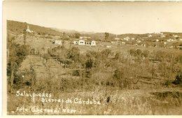 SALSIPUEDES, SIERRA DE CORDOBA, ARGENTINA. FOTO PHOTO ESCRITA 1940 SIZE 9X14 CM- LILHU - Lugares