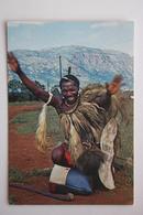 Swaziland : A Cheerful Greeting From  Happy Swazi , Swaziland Postcard - Swazilandia