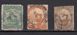 Peru  Lama  3 Valeurs - Peru