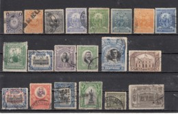 Peru Lot De 20 Timbres Anciens - Peru