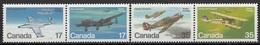 CANADA 784-787,unused,planes - Avions