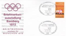 Germany 1972 Olympic Games München - Briefmarken Werben Für München -  Bamberg  (DD13-12) - Expositions Philatéliques