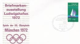 Germany 1972 Olympic Games München - Briefmarken Werben Für München -  Ludwigshafen  (DD13-12) - Expositions Philatéliques