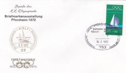 Germany 1972 Olympic Games München - Briefmarken Werben Für München -  Pforzheim   (DD13-12) - Expositions Philatéliques