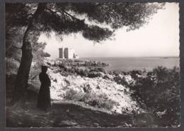 98640/ CANNES, Ile Saint-Honorat, Abbaye De Lérins, Monastère Fortifié Du XIe. Vu De L'Ouest - Cannes